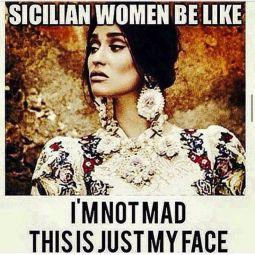 sicilian women meme